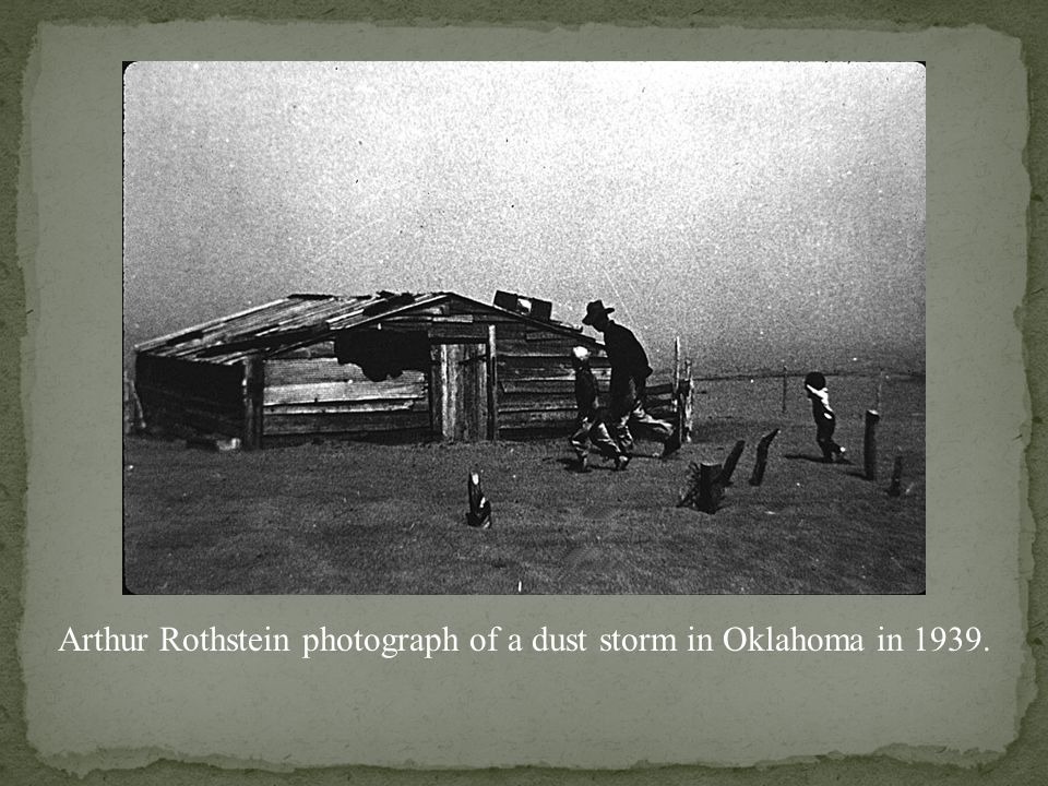 Aftermath of a series of dust storms, South Dakota, 1936