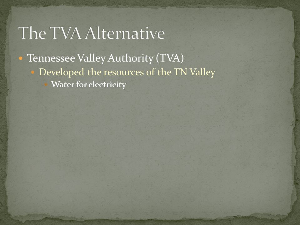 A dam constructed by the Tennessee Valley Authority
