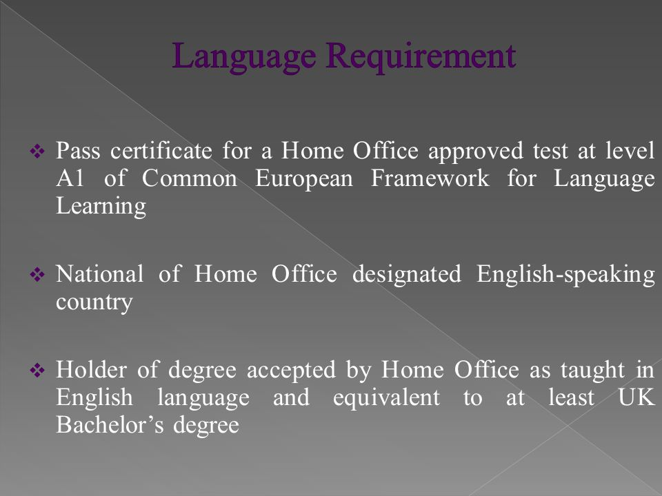  Question of fact and degree  No set minimum amount is required  Maintenance and accommodation for migrant and dependants