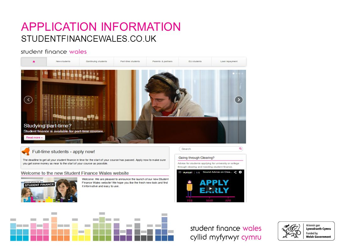 APPLICATION INFORMATION NEW LOOK 'MY ACCOUNT' Making it easier to navigate and understand