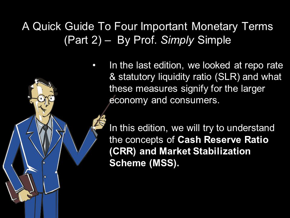 The Cash Reserve Ratio CRR is a bank regulation that sets the minimum reserves each bank must hold to customer deposits and notes.