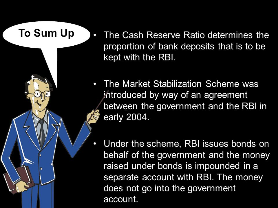 Hope you have now understood the concept of Cash Reserve Ratio (CRR) and Market Stabilization Scheme (MSS).