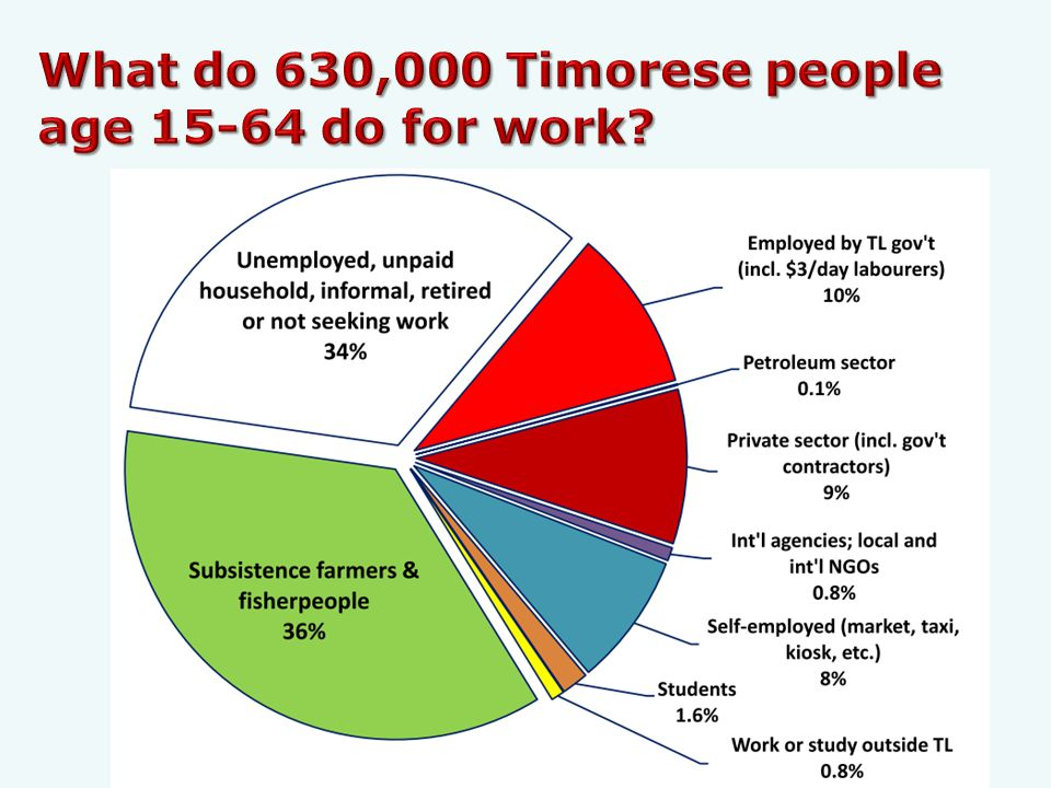 Timor-Leste has problems finding jobs for the 16,000 young people who will achieve working age during 2014.