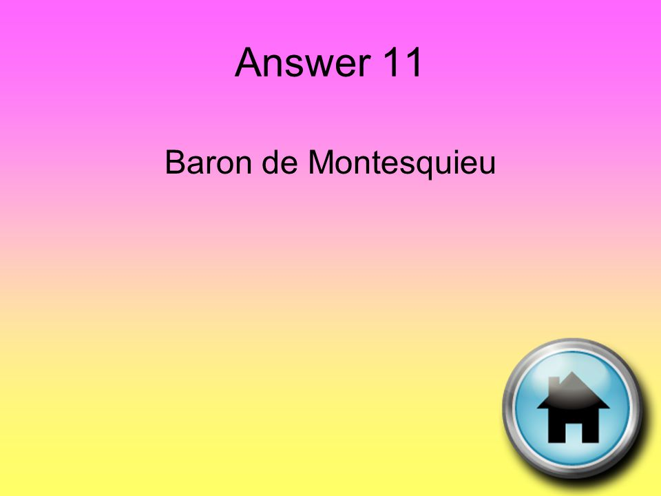 Question 12 This Jacobian leader led France during the Reign of Terror