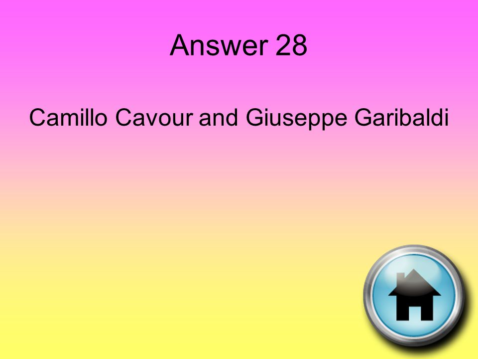 Question 29 He strengthened France economically and politically before attempting to conquer the world.