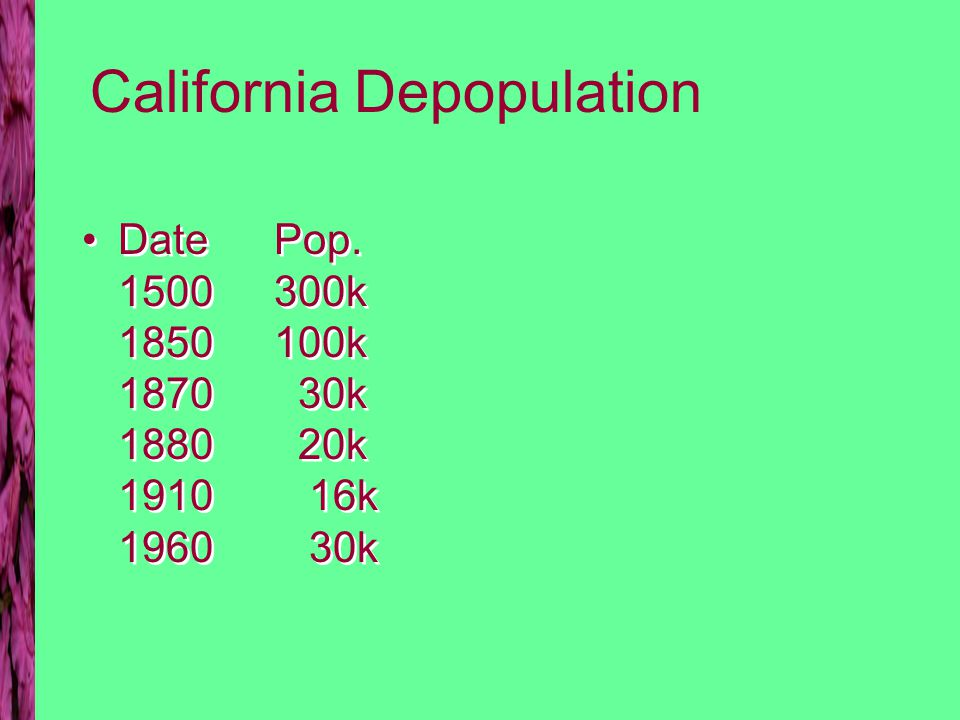 California Indian Conflicts CA law allows forced indenture of Indian Children –1851 Gold Trails through Paiute land –1853 Miners provoke Rogue River war CA law allows forced indenture of Indian Children –1851 Gold Trails through Paiute land –1853 Miners provoke Rogue River war
