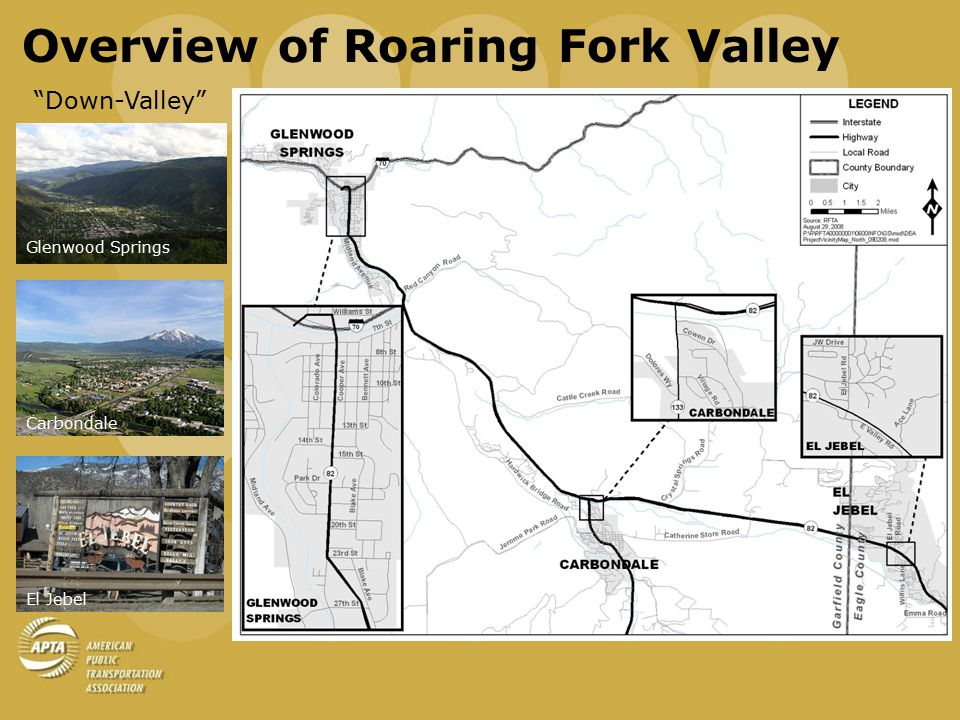 Overview of Roaring Fork Valley Up-Valley Basalt Mt. Sopris from SH82 Aspen