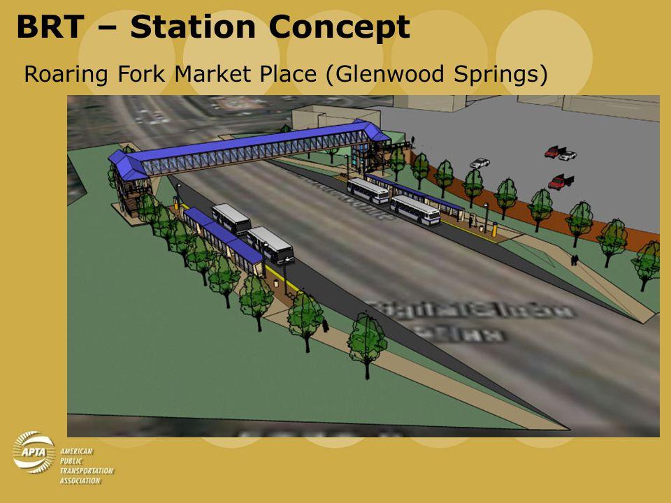 BRT – Station Concept Basalt Typical Station