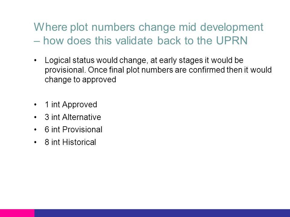 Meter Point address in most cases relates the front door – however, where the meter housing isn't at the same location, such as airside at an airport, how does UPRN deal with very unique locations.