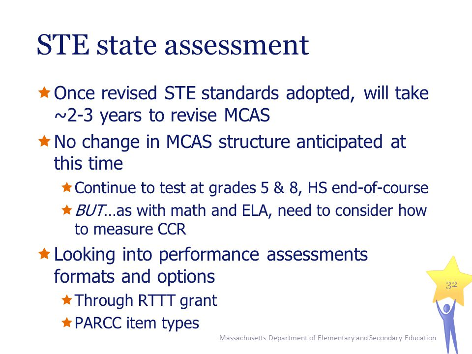 Staying up to date/FAQ 33 www.doe.mass.edu/stem/review.html