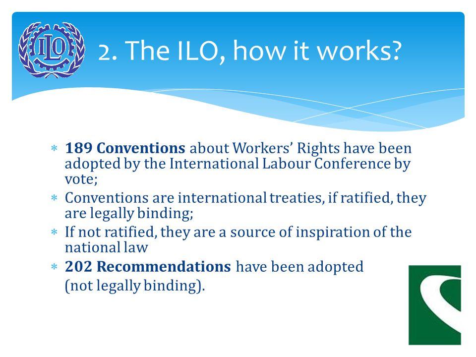 ILO/OIT Conseil d'Administration Governing Body ILO/OIT GENEVE / GENEVA International Labour Conference Conférence Internationale du Travail