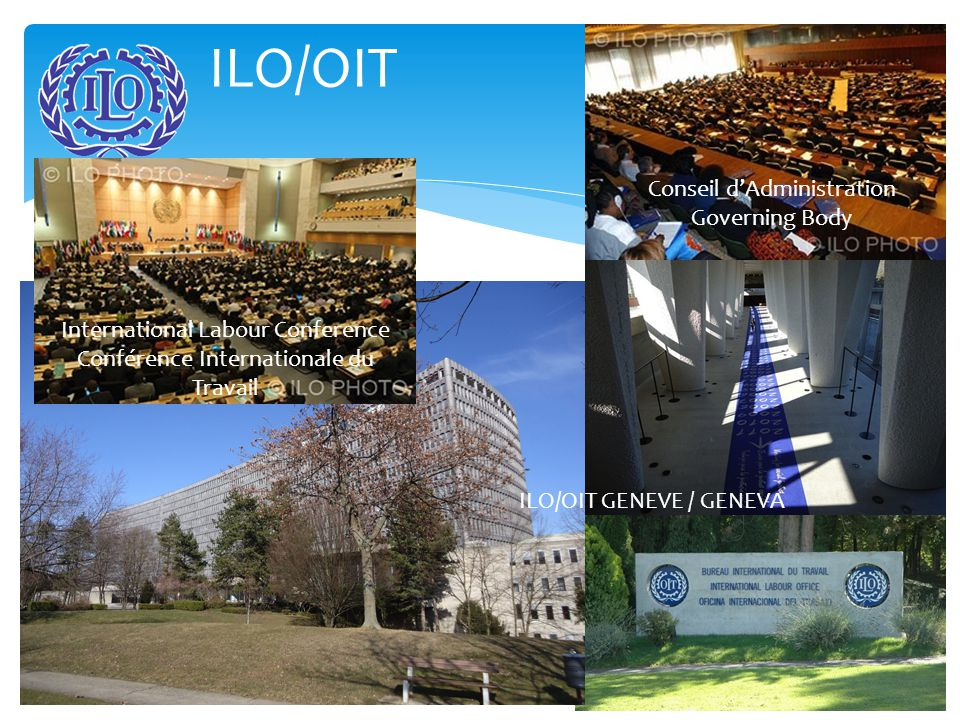 The Workers' Group of the ILO Groupe Travailleur OIT