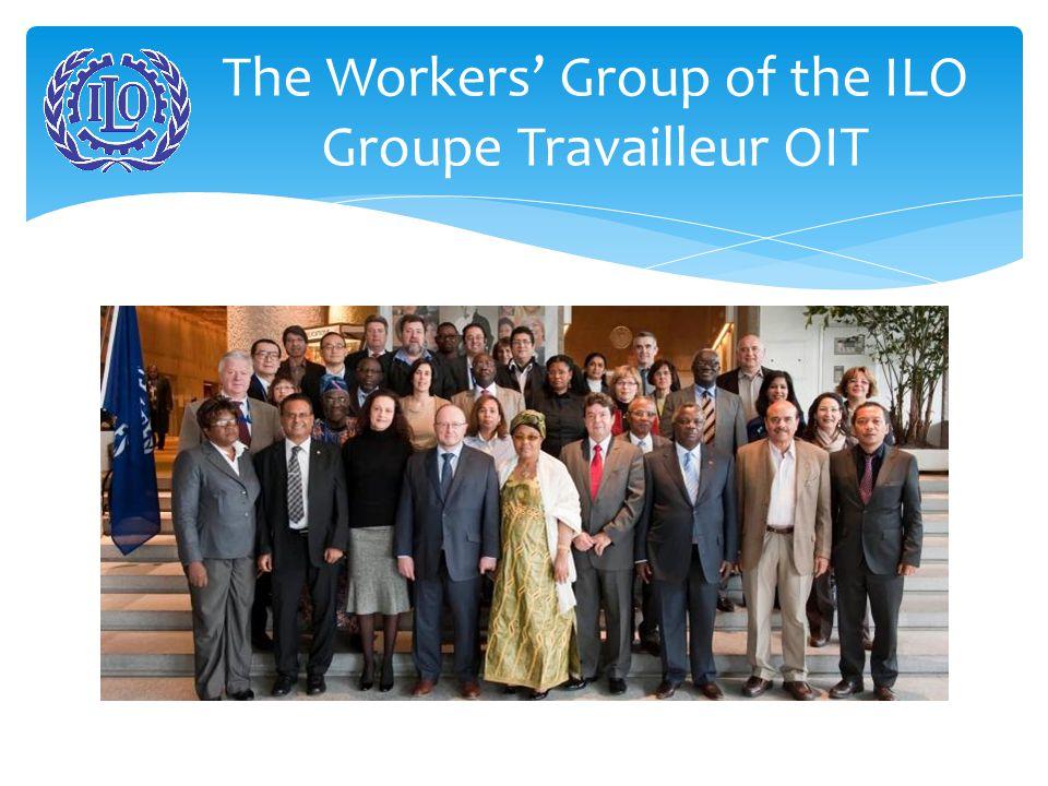 ILO/OIT discussion with M. Funes de Rioja (empl. pres) and Guy Ryder (DG)