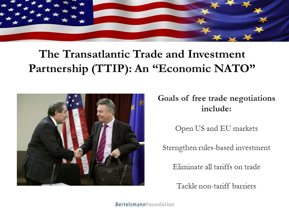 Who We Are Moving beyond the financial crisis Setting global norms and standards Addressing global challengers TTIP: What's at Stake?