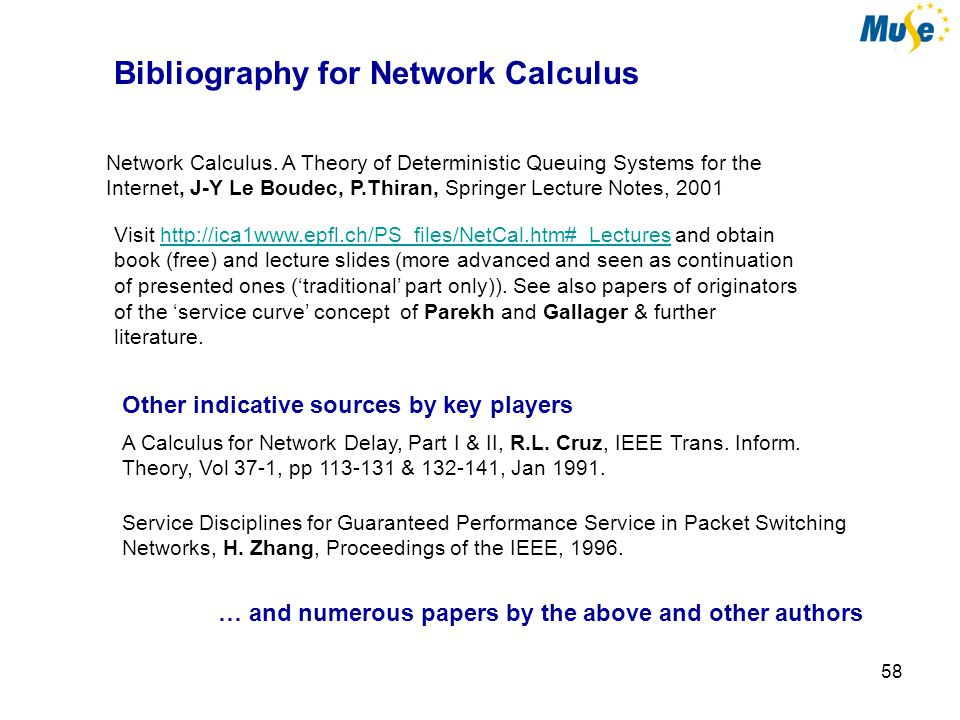 59 Network Calculus & Related Models with Applications Summing up Not a calculus in the convenient sense Not a calculus in the conventional sense Gives rich insight on what happens micro and macroscopically not much shown but each case needs deep examination along the concepts shown … hopefully two hrs well spent THANK YOU !!