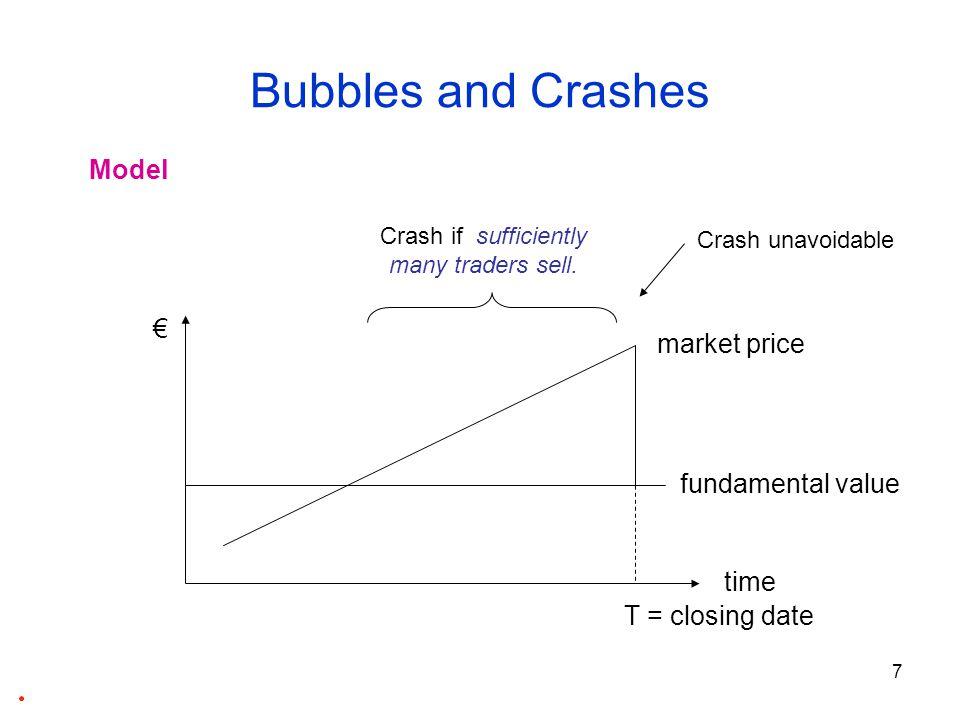 8 Bubbles and Crashes When do bubbles burst.