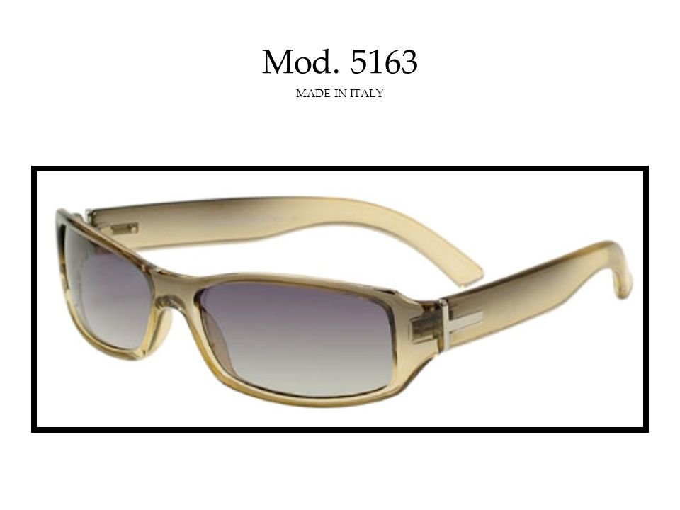 Mod. 5165C MADE IN ITALY