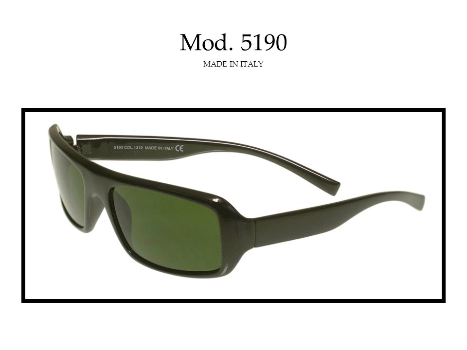 Mod. 5185 MADE IN ITALY