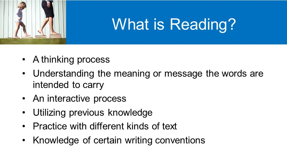 How Does Reading Happen.