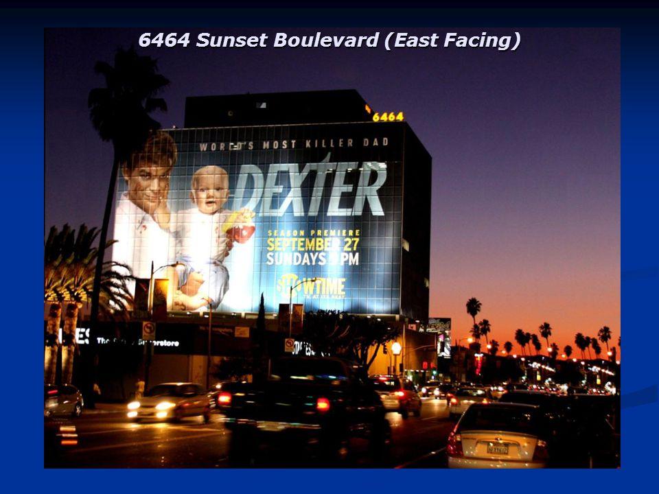 6565 Sunset Boulevard (East Facing) right next door to Club Social