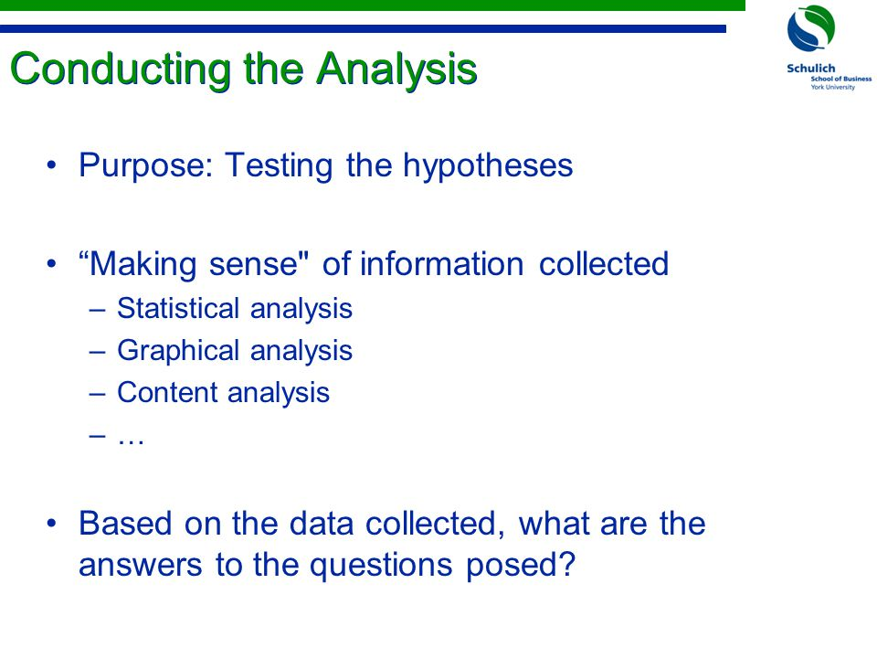 Analytical Thinking - A Scientific Approach to Problem Solving Problem Hypothesis FactsAnalysis Solution