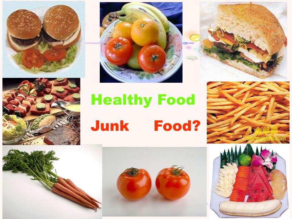 Healthy Food Junk Food?
