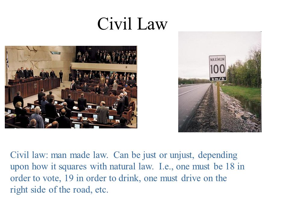Natural Law Cicero writes of the natural law: Natural law is right reason in agreement with Nature...it is of universal application, unchanging and everlasting....