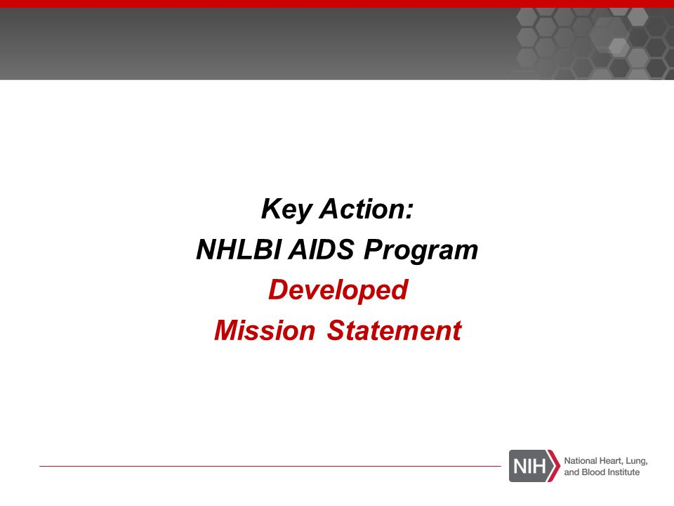 The NHLBI AIDS Program provides global leadership for research, training, and education programs to promote the prevention and treatment of HIV-related cardiovascular, pulmonary, and hematologic disease.