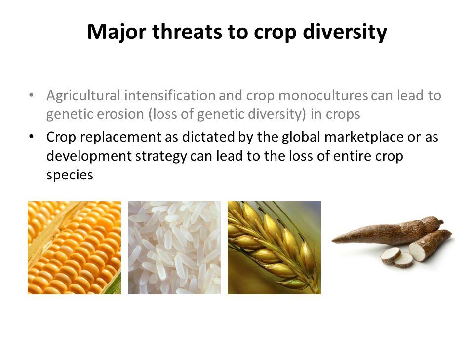 Changes in crop commodities worldwide Khoury et al.