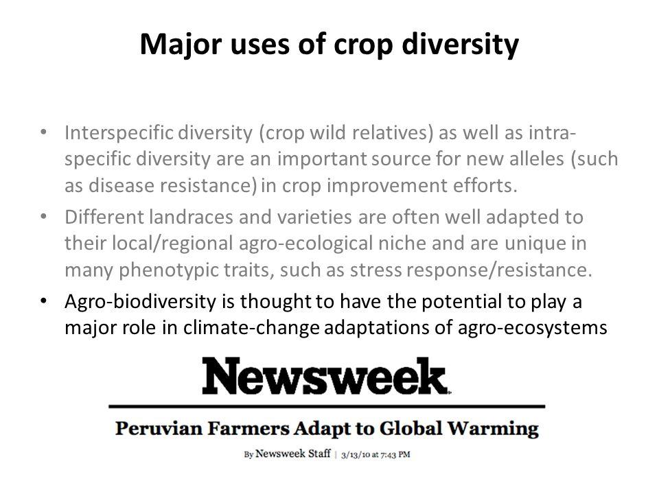 Global gridded crop models predict large reductions in yields of major crops (especially under nitrogen stress) Rozenweig et al.
