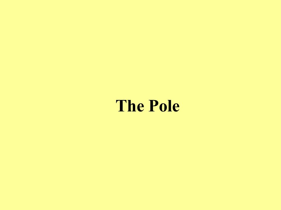 Early styles of pole vaulting didn't allow for bending of the pole…..