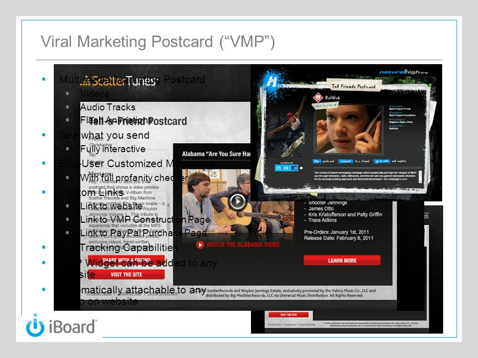 iBoard® Product Performance Tracking  Executive Daily Text Emails  Auto Generated on a Daily Basis  Text Email  Easy to read on PDAs  Highlights Top General Information  Raw Data Available to Client  Via CSV file on Secure Client Web Portal  Customizable, Formatted & Real- Time Reports  Accessible through iBoards™ or Web Secure Portals  Flow Explorer™  MC2 Proprietary Visual Tracking System