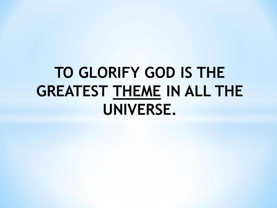Psalm 115:1 Not unto us, O Lord, not unto us, But to Your name give glory, Because of Your mercy, Because of Your truth.