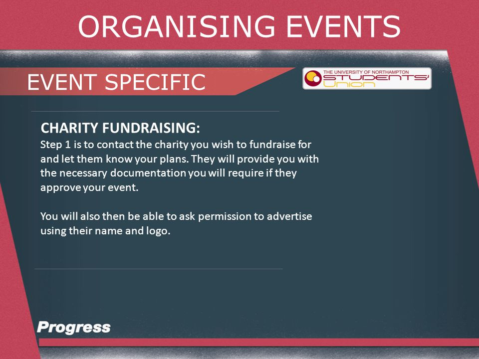 ORGANISING EVENTS EVENT SPECIFIC CHARITY FUNDRAISING: When it comes to marketing – know the difference between proceeds and profit.