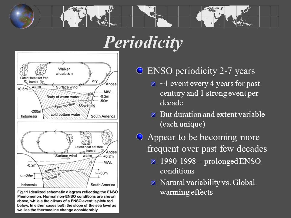 Effects of ENSO