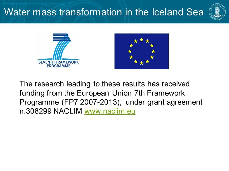 - NAO and ILD indices North Atlantic Oscillation (NAO) index Icelandic Lofoten Dipole (ILD) index