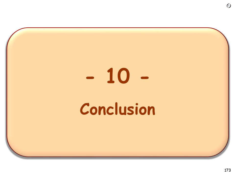 - 1 – Overview of the requirements task - 10 - Conclusion 173