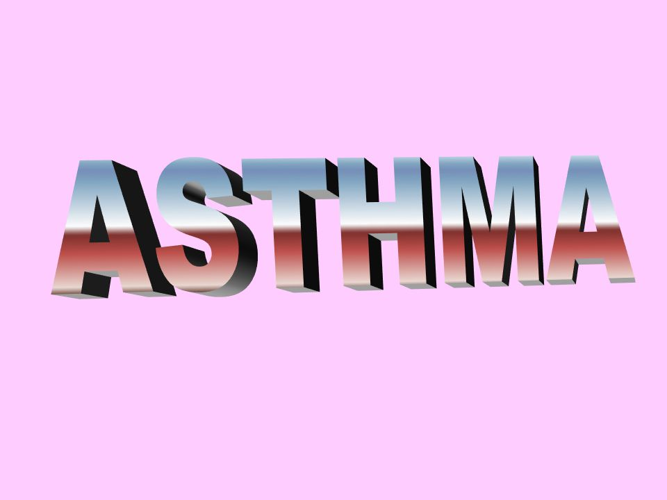 BRONCHIAL ASTHMA ASTHMA IS DEFINED AS REVERSIBLE OBSTRUCTION OF LARGE AND SMALL AIRWAYS DUE TO HYPERRESPONSIVENESS TO VARIOUS IMMUNOLOGIC AND NONIMMUNOLOGIC STIMULI ASTHMA IS AN EOZINOPHYLIC INFLAMMATION OF THE AIRWAYS PREVALANCE 7-12%