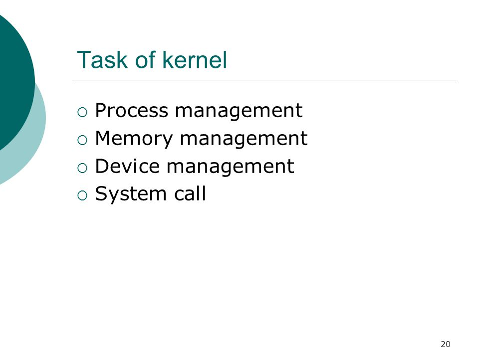 21 Major functions flow for Linux kernel boot
