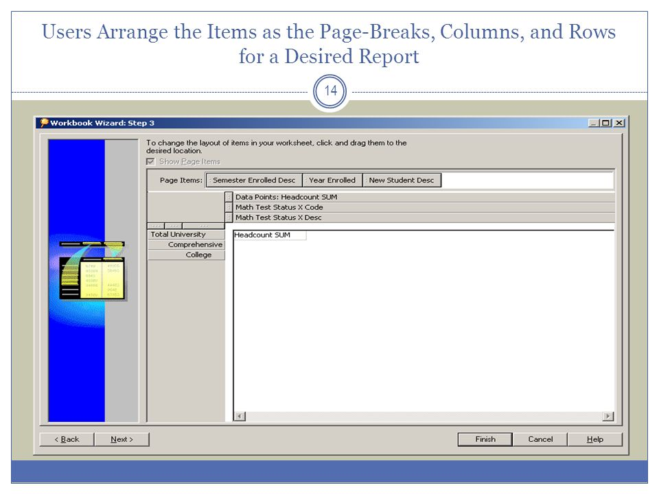 Accessing the IRDB Through Discoverer 15 Navigate your web browser to https://ez.cuny.eduhttps://ez.cuny.edu Log in with your LAN user id and password Click on the Discoverer icon in the list of available applications via Citrix Install Java code as prompted upon first use of a given computer (you may need an IT technician to install programs on your computer) After Java installation, you will be prompted to log in to Discoverer (user id and initial password established by OIRA) Documentation available