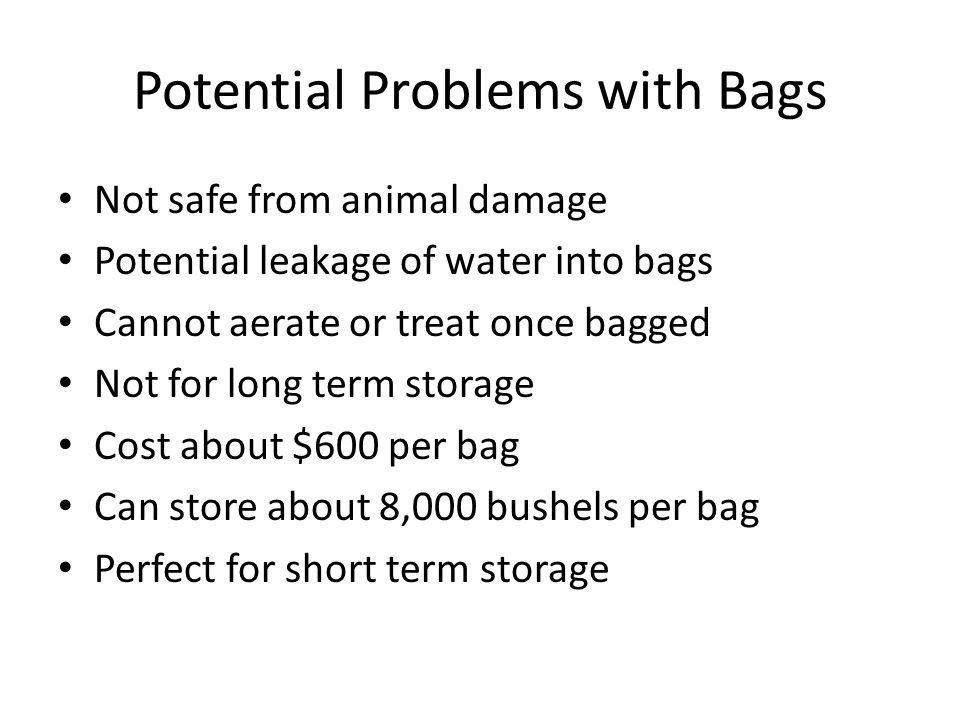 Bag System Using Insect Probe