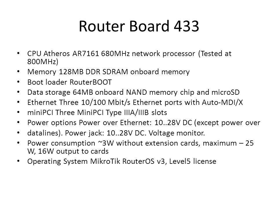 Router Board 411