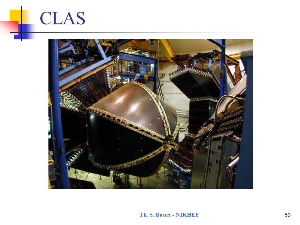 Th. S. Bauer - NIKHEF 51 CLAS