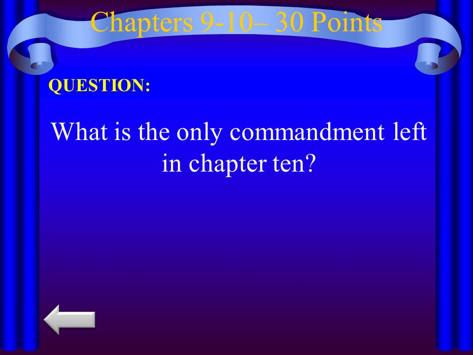 Chapters 9-10– 40 Points QUESTION: With whom does Napoleon play cards at the end of the novel?