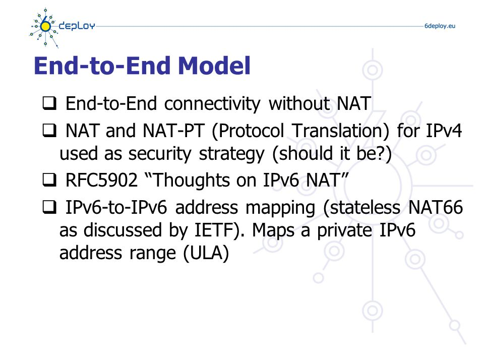 In IPv4 Networks  I do not have IPv6 in my network and I won't support it.