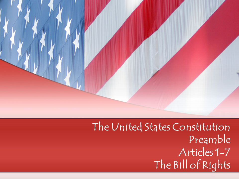 The Constitutional Convention 1787 – delegates from 12 states met to fix the AOC The Framers decided to write a new constitution