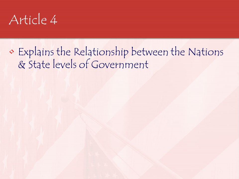 Article 5 Outlines the Amendment Process
