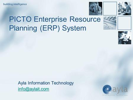PICTO Enterprise Resource Planning (ERP) System Ayla Information Technology
