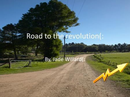 Road to the revolution(: By, Jade Willard(:. Differences arise 1824.
