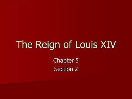 louis xiv an absolute monarch essay